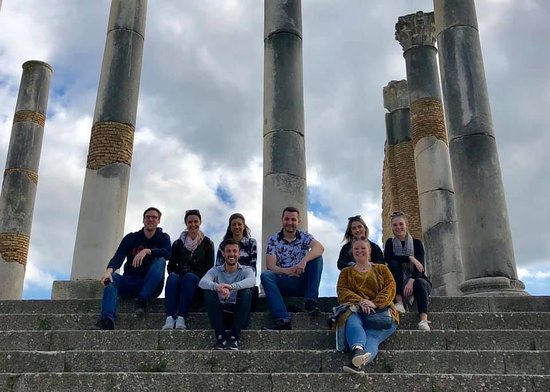 the group at Volubilis