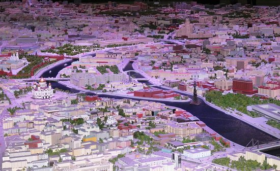 Architectural Miniature of Moscow