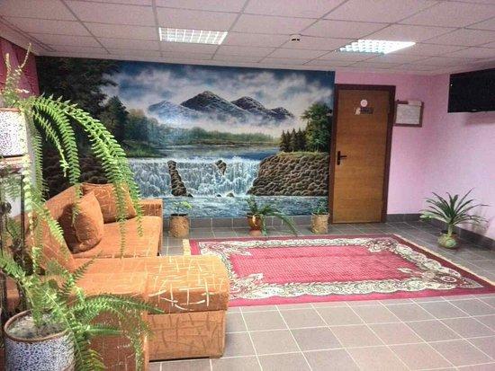 Naroulia, Wit-Rusland: Холл