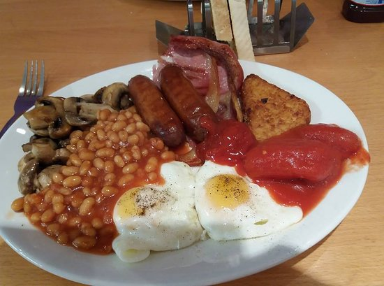 Large Breakfast made by Charlotte, the proprietor