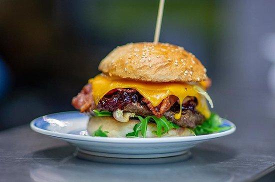 Süße Liebe Burger mit Weiderindfleisch.