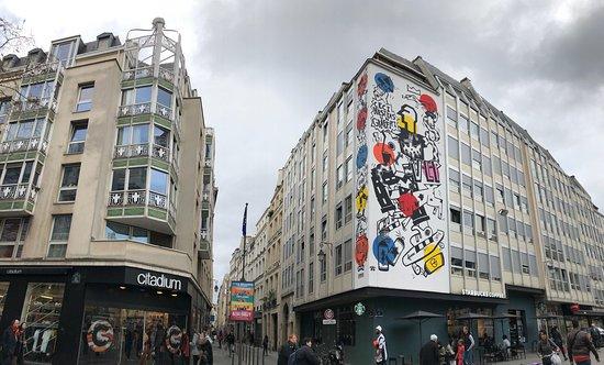 Fresque Ceci N'Est Pas Un Graffiti