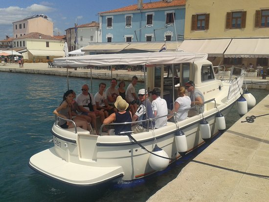 Fazana, โครเอเชีย: Taxi boat Elen....come and enjoy a wonderful day with us