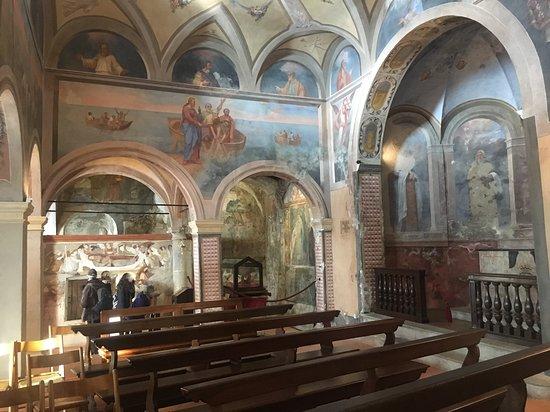 Eremo di S. Caterina del Sasso: Chiesa