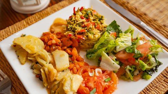Restaurant L'ile De Ouarzazate: Vegan & Vegetarian options