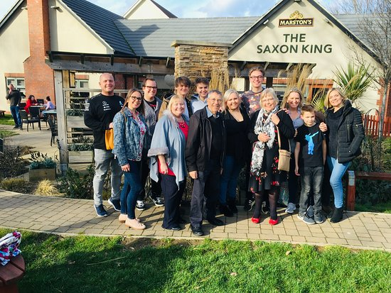 Saxon King: Grandads birthday