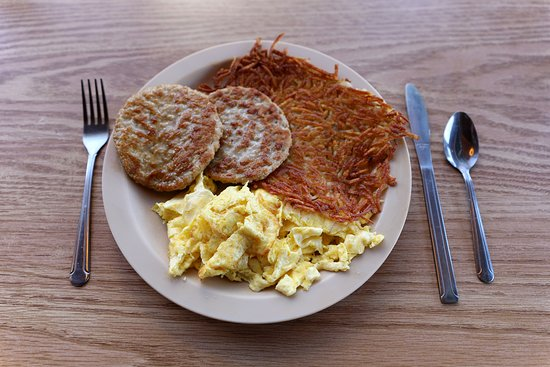 Ludlow Cafe - Basic Breakfast Served 24/7 - March 2019