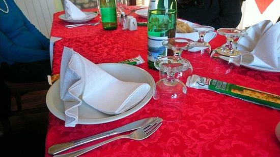 Viguzzolo, Italy: la tavlola la maddalena