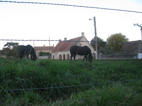 Crepon Normande France is a small village not far from the D day beaches of Normandy