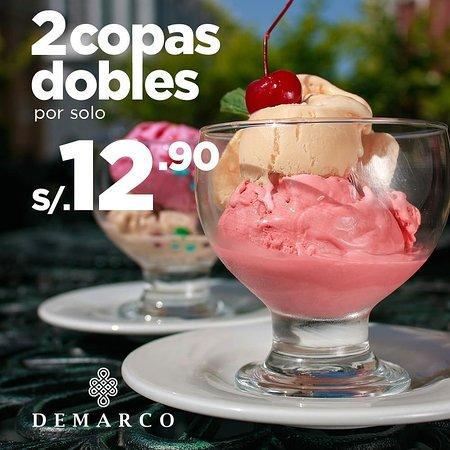 Carnaval del helado !!!! Disfruta de esta superpromo todos los días y a toda hora, hasta el 30 de marzo.