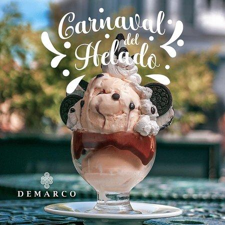 Carnaval del helado en #demarco.