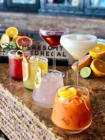New signature cocktails at Don Manuel's Bar