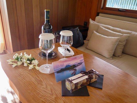Conrad Bora Bora Nui: Welcome Gift