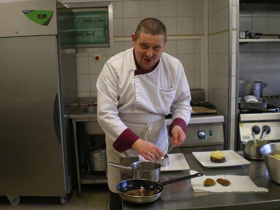 Blaisy-Bas, França: Le chef