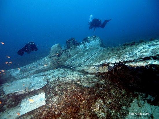 Zirje Island, Croatia: Stuka - Ju87 frlight bomber