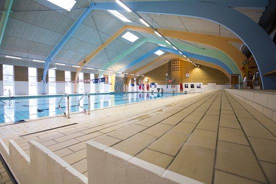 Oksbol, Denmark: Svømmehal med Sauna, spabad og varmtvandsbassin