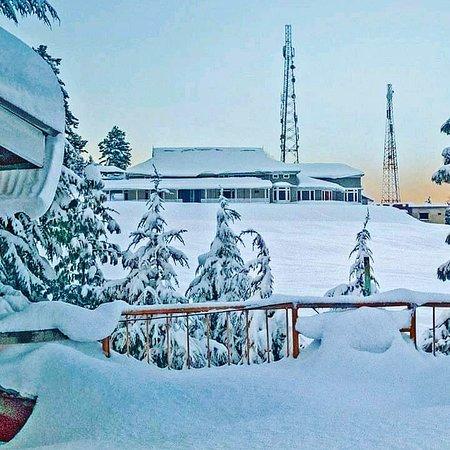 Shogran Today Snowfall Beautiful Weather Pakistan.