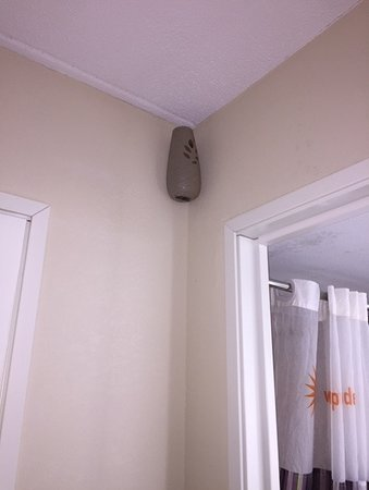 wall mounted automatic room deodorizer in room 123 at LQ Lexington Park/California MD