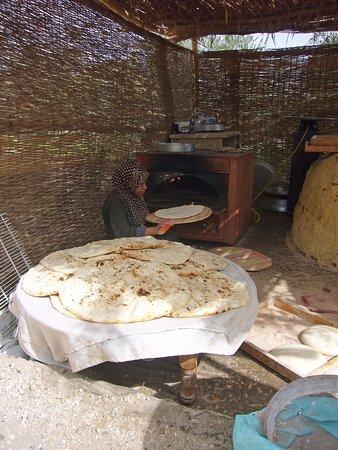 täglich frisch gebackenes Brot