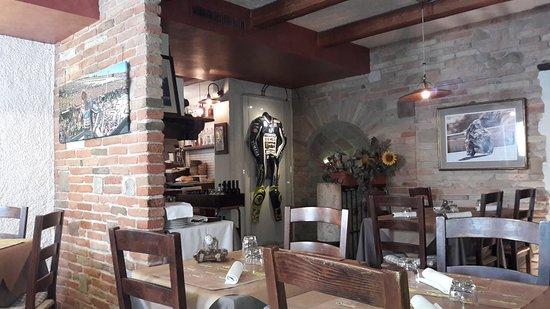 Tavullia, Italia: La pizzeria