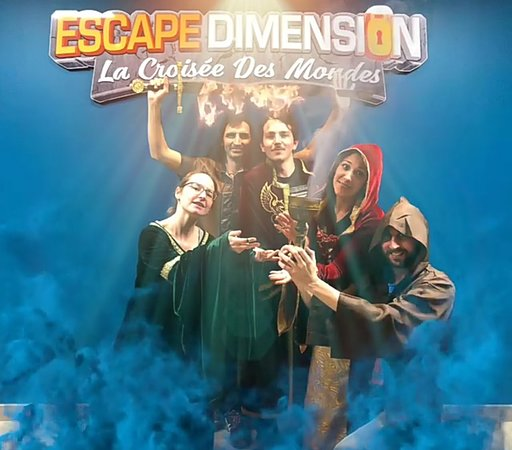 Escape Dimension La Croisee des Mondes
