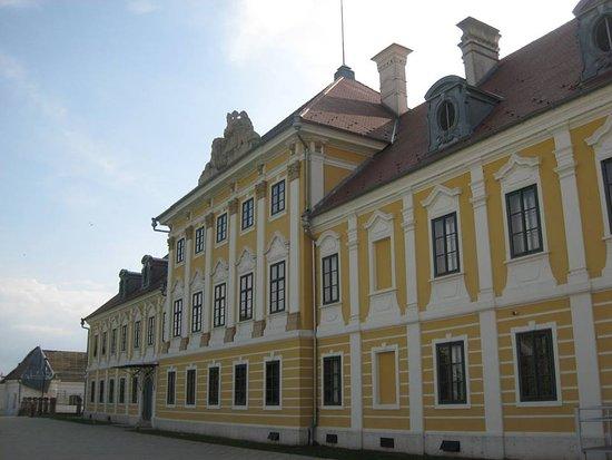 Vukovar-Syrmia County, Croácia: Vukovar, kasteel Eltz.,volledig hersteld, nadat het in 1991 volledig werd verwoest door oorlogsgeweld.
