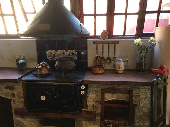 El Durazno, Argentina: Cocina antigua