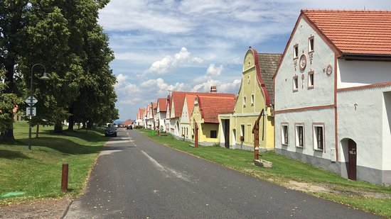 Holasovice, Czech Republic: のどかな村