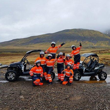 Una aventura de Buggy de una hora de Reykjavik: The group