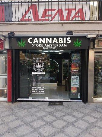 Cannabis Store Amsterdam Salonico