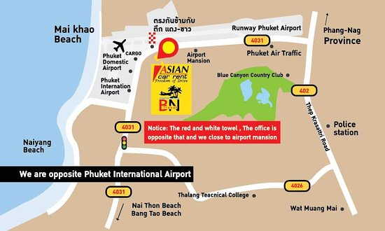 Asian Phuket Airport Scooter & Car Rental