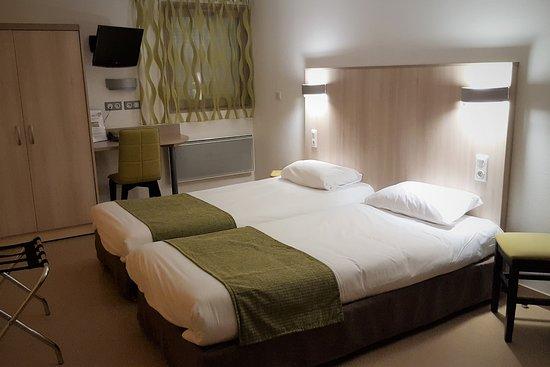 Hotel Mont Vernon: Chambre twin / PMR