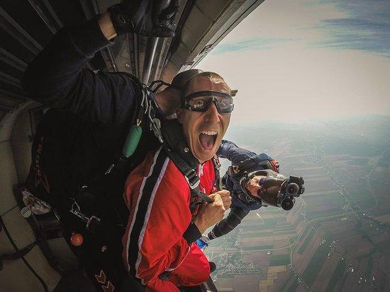 Farnham, Canada: Premier saut tandem!