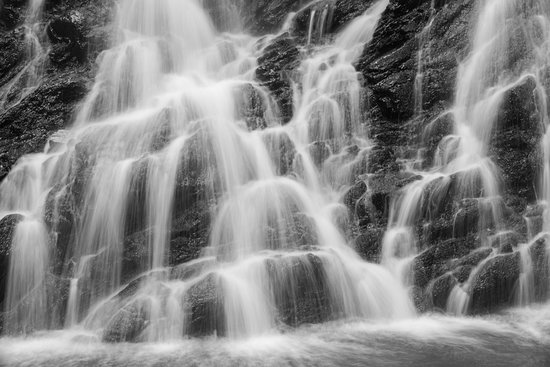 Ross and Cromarty, UK: Experiment with slow shutter speeds to capture waterfalls