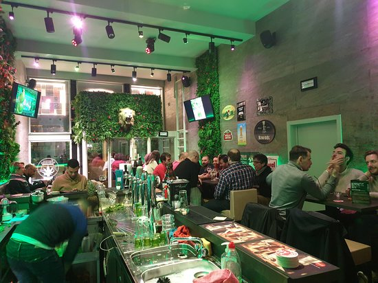 The Green Man Bar