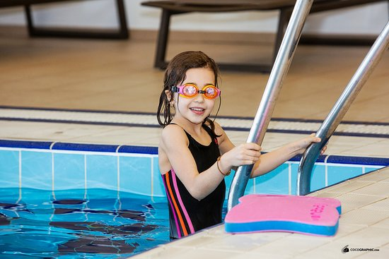 We have an indoor pool where the kids are welcome.