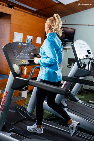 Club Floreasca: If you want to burn calories, try our gym.