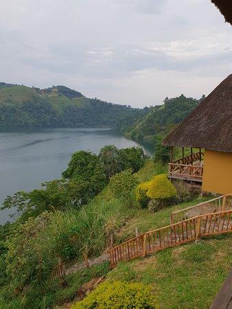 Le bungalow et la vue du bungalow