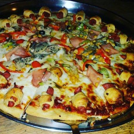 Hato Mayor del Rey, Dominican Republic: Pizzas de todos los ingredientes