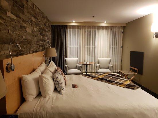Le meilleur hôtel que je suis allé au Québec ! (dans la province, pas juste la ville de Qc)
