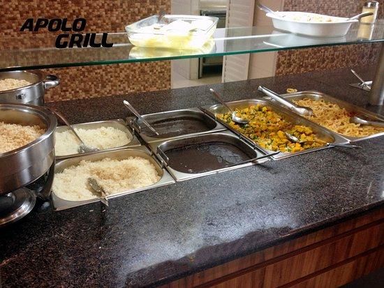 Cacador, SC: Imagens do buffet.
