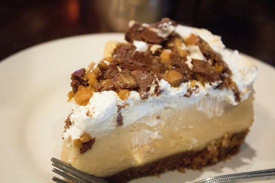 Peanut Butter Pie...Made In-House.  Wonderful!😋