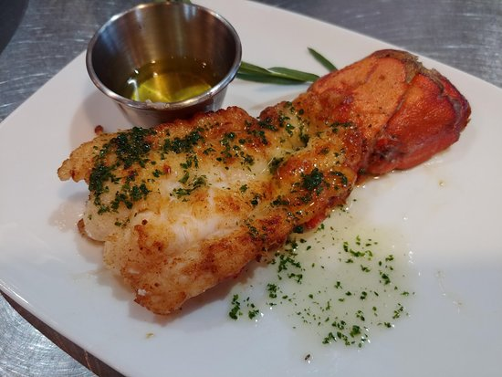 Elements Destination Restaurant: Side of Lobster Tail!