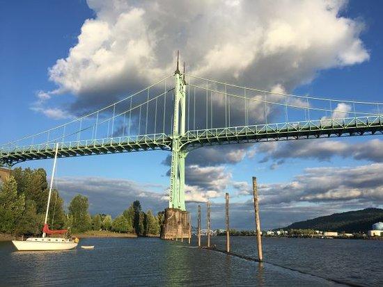 Portland Or: St Johns Bridge