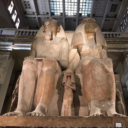 The Egyptian museum, Citadel of...