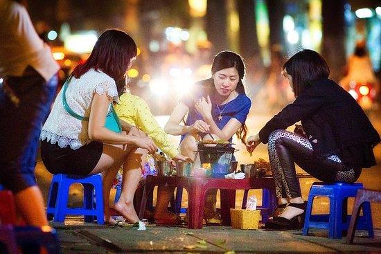 4 uur Hanoi Street & Eats Night Walking ...