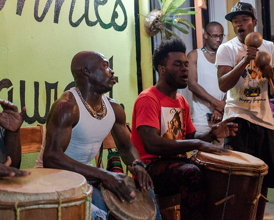 Belizean Dreams Resort: Garifuna Drumming