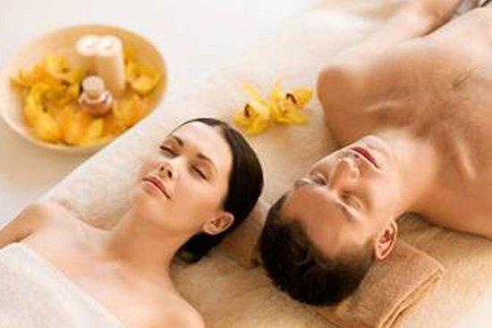 Eine Stunde Paare Massage