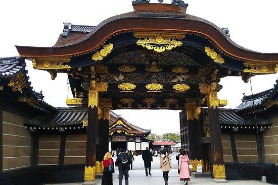 京都御所と二条城ウォーキングツアー