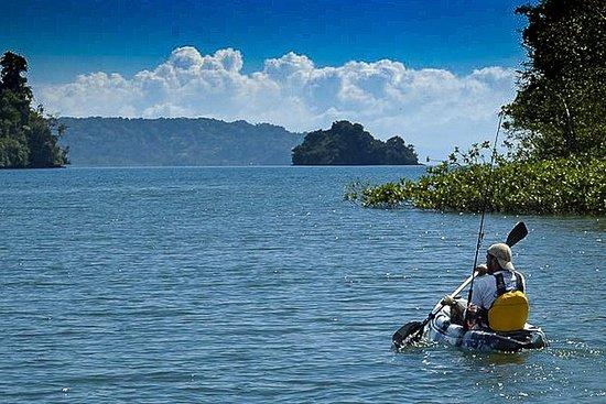 Kayak de camping sur une île...